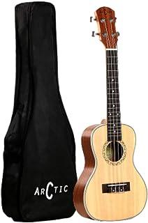 Arctic AC-UK24SPR Soprano Ukelele Kit with Bag and String Set (Natural)