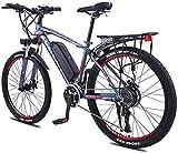 Bicicleta eléctrica Bicicleta eléctrica por la mon Adultos de 26 pulgadas de la rueda de bicicleta eléctrica de aleación de aluminio 36V 13Ah Batería de litio de ciclo de la bicicleta de montaña, para