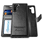 AMOVO Wallet Case Designed for Samsung Galaxy Note 10 Detachable...