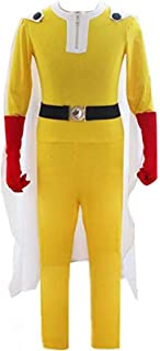 Poetic Walk ONE Punch-Man Saitama Outfits Cosplay Costume Jumpsuit Set
