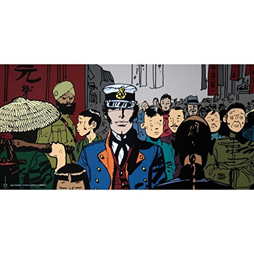 CC Editions Poster Offset Corto Maltese, Lointain (50x25cm)