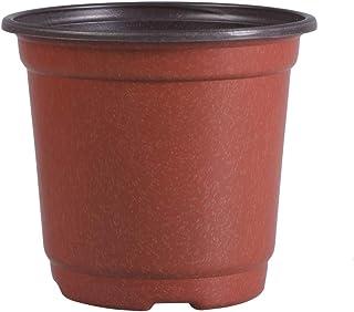 TOYANDONA 30PCS Mini Plant Pots Creative Porcelain Plastic Breathable Succulent Pots Basin Flower Pots for Indoor Home Office