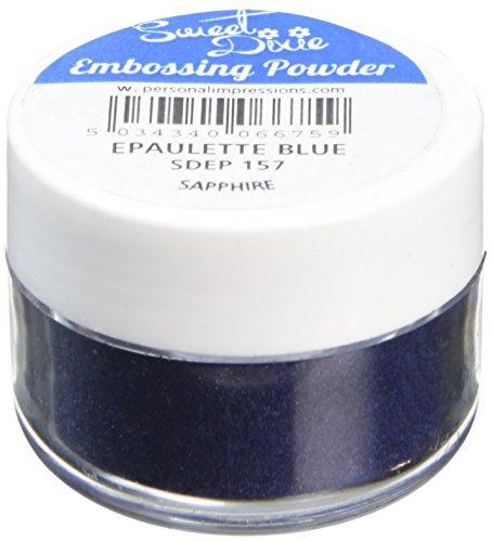 Sweet Dixie Praegepuder Epaulette Blau (Saphir), Synthetisches Material, 4 x 4 x 3 cm