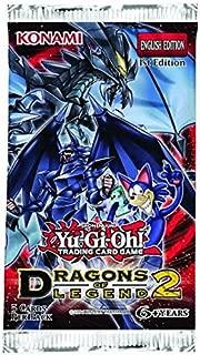 Konami YuGiOh Dragons of Legend 2 Booster Pack