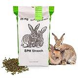 SPH Futter für Kaninchen und Nager 25kg Sack - universelles Futter aus regionaler Produktion