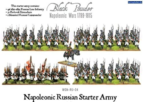 Warlord Games NapÃleonic Wars Core Russian Starter Army Military Line Infantry by Warlord Games