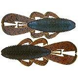 Googan Baits GBB-BLU Bandito Bug 4', Blue Craw, One Size