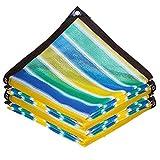 Rayas Sunblock Sunblock Shade Cloth Net,Shade Cloth 80% Sunblock For Plants Cubierta De Invernadero,Toldo De Carpa De JardíN para Plantas con Flores,Perreras para Mascotas (3mx12m/9.8ftx39.4ft)