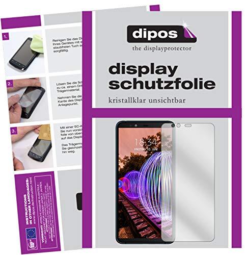 dipos I 6X Schutzfolie klar kompatibel mit JVC J20 Folie Bildschirmschutzfolie