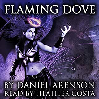 Flaming Dove audiobook cover art