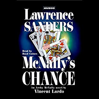 Lawrence Sanders audiobook cover art