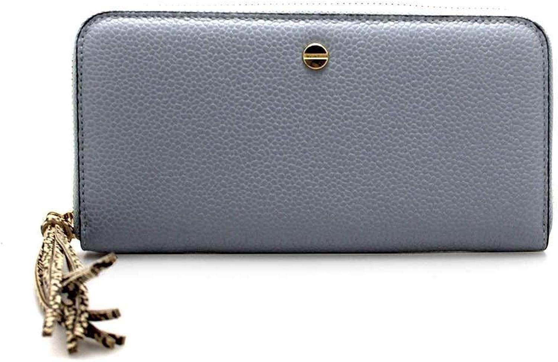 BORBONESE Wallet Female Leather light bluee  950197F96S24