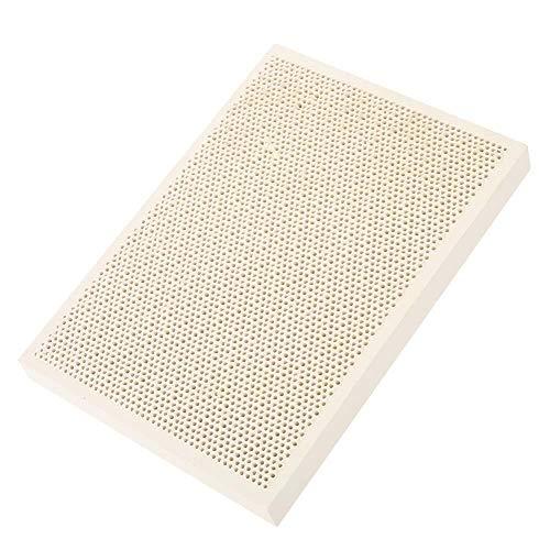 Lötplatte, hitzebeständig, Keramik, Wabenmuster + Lötmatte für Schmuck, Wärme, Lack, zum Trocknen, Werkzeug für Gasherd, 135 x 95 x 13 mm