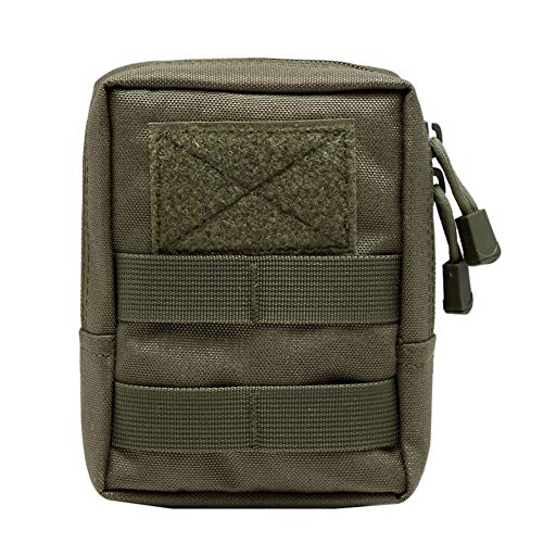 Yalatan Tactical 1000D Outdoor Gürteltasche, Multitool Molle Pouch Tool Zipper Hüfttasche, Jagdzubehör Robuster Gürteltasche