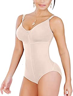 All in One Control Open Bust Body Shapewear Adjustable Women's Breathable Shaping Jumpsuits for Thighs Slimming, Tummy Control