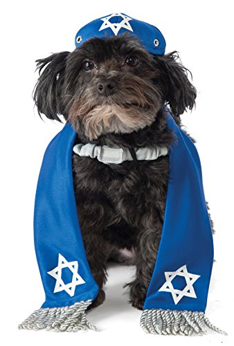 Rubie's Yarmulke and Tallis Dog Costume , S-M
