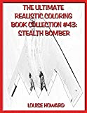 The Ultimate Realistic Coloring Book Collection #43: Stealth Bomber