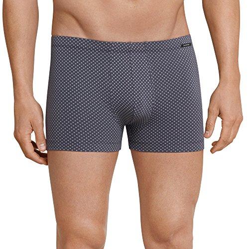 Schiesser Herren Shorts Boxershorts, Grau (Anthrazit 203), Medium (Herstellergröße: 005)