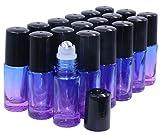 Essential Oil Roller Bottles 5ml 18 Pack...