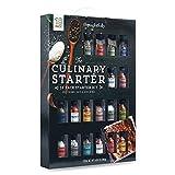 Modern Gourmet Foods, Set de Regalo The Culinary Starter, Incluye Variedad de Mezclas de Especias, Sales y Condimentos, Pack 18