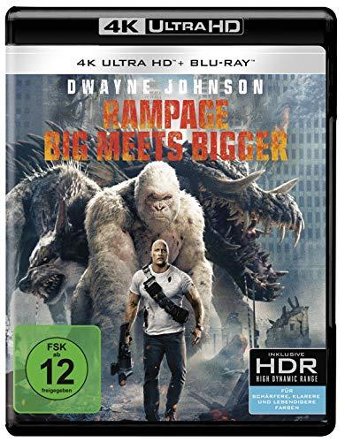 Rampage: Big Meets Bigger 4K Ultra HD [Blu-ray]
