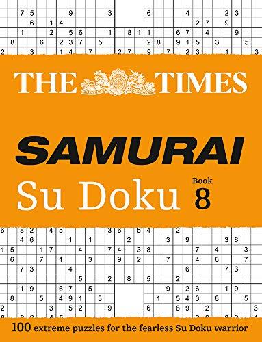 The Times Samurai Su Doku: Book 8 (Times Mind Games)