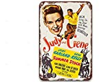 NNHG Summer Stock (1950), cartel de metal de películas vintage para habitación al aire libre, dormitorio personalizado baño 8 x 12 pulgadas