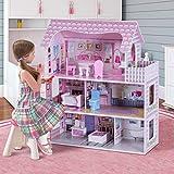 Zoom IMG-2 costway casa delle bambole in
