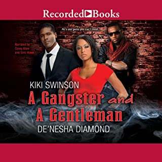 A Gangster and a Gentleman audiobook cover art