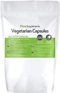 Lege vegetarische capsules   Maat 000 (500)