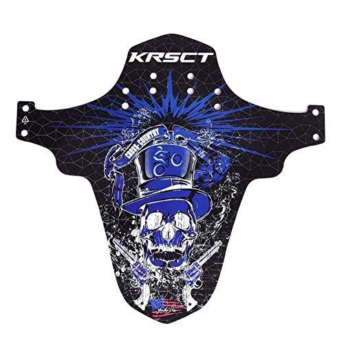 KDHJY Route Fender Vélo de Montagne Garde-Boue Avant arrière Garde-Boue Avant de Cyclisme sur Route de Montagne arrière VTT Fender (Color : A)