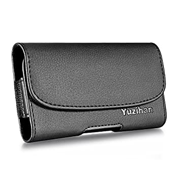 Yuzihan Holster Fit for iPhone SE 2020 4.7 Inch iPhone 8 7 6s 6 Belt Holster Premium Leather with Belt Clip Carrying Case Fit with Slim Case Commuter Case On