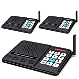 Intercoms Wireless for Home - GLCON Wireless Intercom 1 Mile Long Range 10 Channel 3 Code - Room to Room Home Intercom...