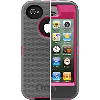 Otterbox Defender Series Case for Apple iPhone 4/4s Pink Bulk Packaging
