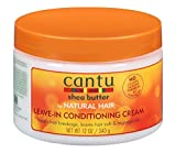 Cantu Shea Natural Leave In Conditioning Cream, 1er Pack (1 x 340 g)