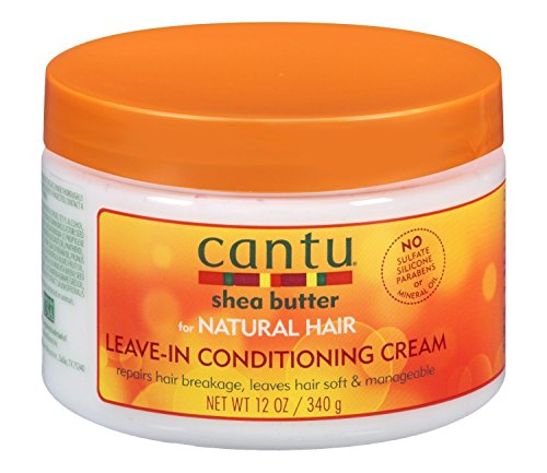 Cantu Shea Butter for Natural Hair Leave In Conditioning Repair Cream, 12 Ounce