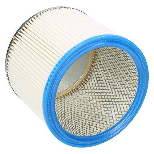 Wessper Filtro de cartucho para aspirador Mac Allister 1250W (Para uso húmedo y seco)