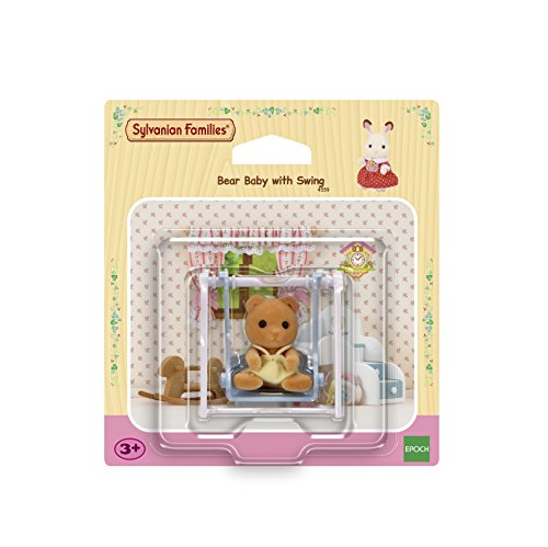 Sylvanian Families Bear Baby with Swing (4559)