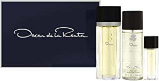 Oscar by Oscar de la Renta for Women 3 Piece Set Includes: 3.3 oz Eau de Toilette Spray + 8.4 oz Body Mist + 0.5 oz Eau de Toilette Spray