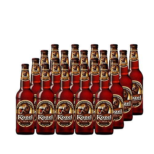 Kozel Cerny Schwarzbier (20 x 0,5 Liter) Original Tschechisches Kozel Bier