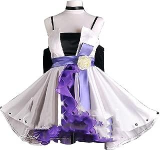 Vocaloid Haku White Cosplay Costume Lolita Cosplay Costume Dress