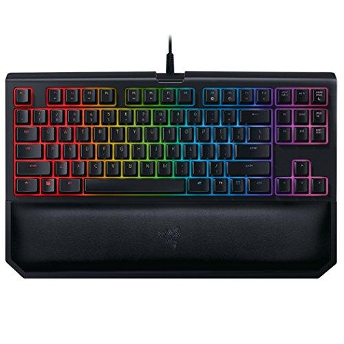 Razer BlackWidow Chroma V2, Teclado de Gaming, USB/Alámbrico, Negro RGB, QWERTY Español