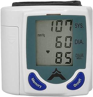 Milisten Monitor de Presión Arterial Monitor Digital de Brazo Superior con Indicación de Voz de Manguito para Niños Adultos El Viejo