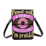 Petit sac à bandoulière en forme de donuts, sac à bandoulière, sac de voyage, sac à main pour téléphone portable