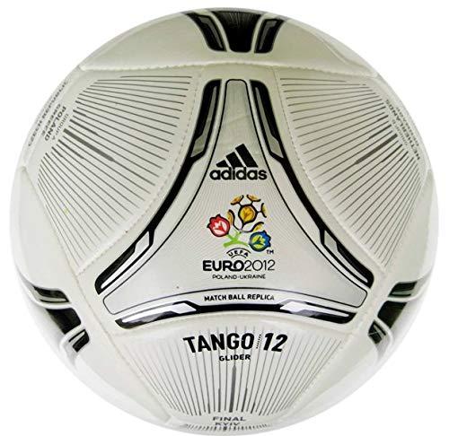 adidas TANGO 12 FINALE GLIDER - Balón de fútbol, color blanco y negro
