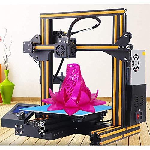 XLST Imprimante 3D Micro Carte SD Préchargé Imprimable Modèles 3D V-Slot CV Puissance Échec Impression pour La Maison & École,Orange