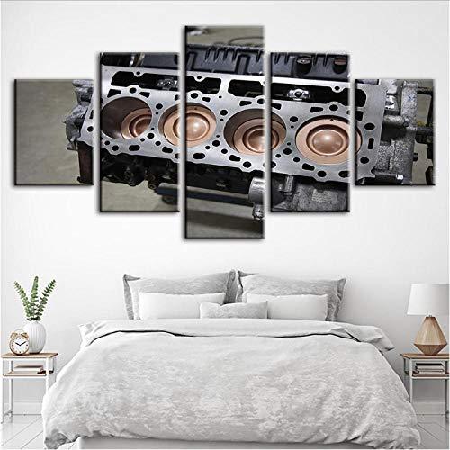 pbbzl schilderij om zelf te maken, decoratie voor het huis, modulaire motor, van canvas, modern, voor kinderen, nachtkastje 20x35cmx2/20x45cmx2/20x55cmx1