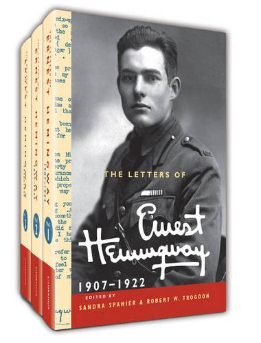 The Letters of Ernest Hemingway Hardback Set Volumes 1-3: Volume 1-3 (The Cambridge Edition of the Letters of Ernest Hemingway)