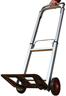 LQBDJPYS Folding Hand Truck with Strong Load Capacity Luggage Shopping Trolley Carts with Extendable Handle Folding Luggag...