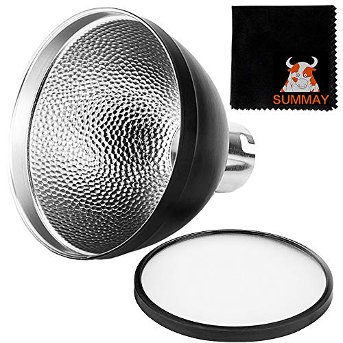 Photo of GODOX AD-S2 Standard Reflector with Soft Diffuser for Godox AD200 AD180 AD360 AD360II Flashes